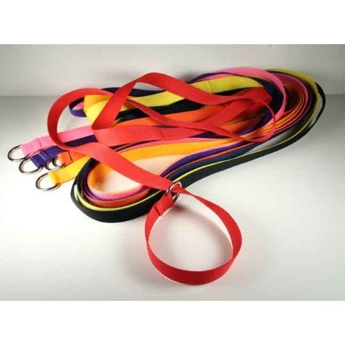 Country Brook Design 25 1 Inch 6 Foot Polypro Kennel Slip Leads - Assorted Colors