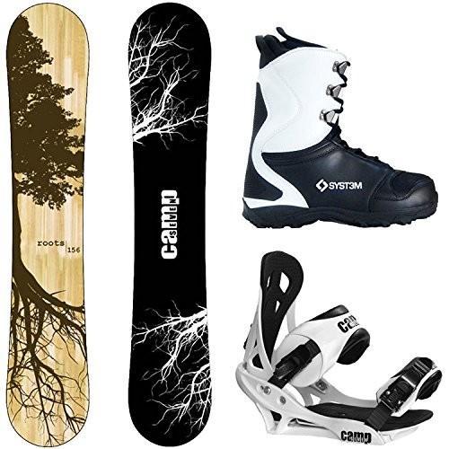 最高級 Boot Size 13 Camp Seven Package Roots CRC Snowboard 158 cm Wide Summit Bindings-System APX Snowboard Boots 13, 自転車通販 voldy.collection 089d45cd
