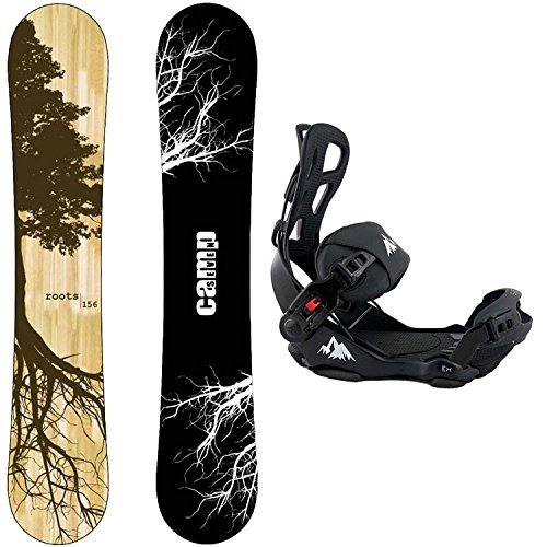 2019年春の Large Bindings Camp CRC Seven Package Roots CRC 2018 Snowboard-153 Bindings Snowboard-153 cm-System LTX Binding Large, スクールグッズKURI-ORI:c6ccca55 --- airmodconsu.dominiotemporario.com