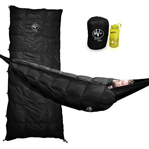 Regular Outdoor Vitals Aerie Down Underquilt/Sleeping Bag 20 Degree Black
