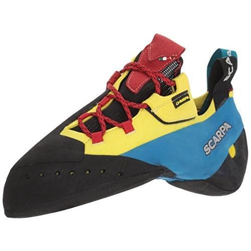 70052/000 8 SCARPA Chimera Rock Shoe Climbing, Yellow, 8 Women/7 Men
