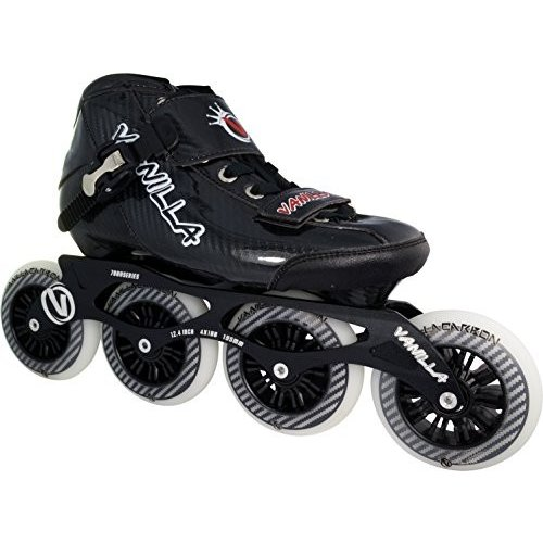 Mens 5 / Ladies 6 VNLA Carbon Speed Inline Skates