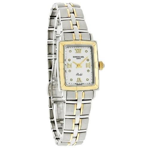 品揃え豊富で 9740-STG-00995 Raymond Weil Women's 9740-STG-00995 Parsifal Diamond Accented 18k Gold-Plated and Stainless Steel Watch, インテリア雑貨 jam store cfe5e946