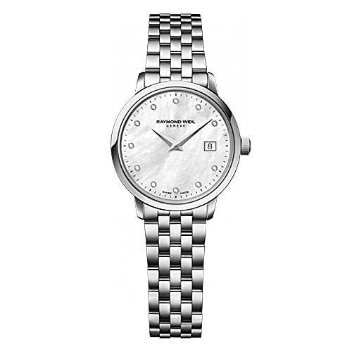 【後払い手数料無料】 5988-ST-97081 Raymond Weil 5988 ST 97081 Toccata Silver Ladies Watch, シモツチョウ 4de9e5b2