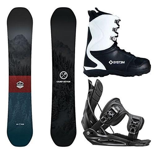 【在庫限り】 Boot Size Large-System 11/Large Size Bindings Camp MTN Seven Package Redwood Snowboard-156 cm-Flow Alpha MTN Large-System APX Snowboard Boots 11, フレンドバッグ:03c9723a --- airmodconsu.dominiotemporario.com