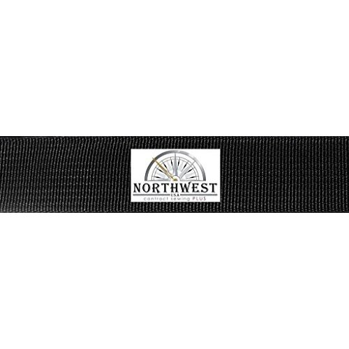 1 inch x 50 yards Tapecraft Northwest Contract Sewing 1 inch 17337 Nylon Backpack Webbing (1