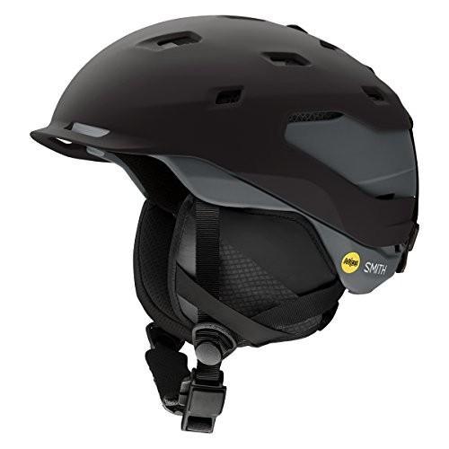 スノーボードSmith Optics Quantum MIPS Ski Helmet, Matte 黒 Charcoal, Small