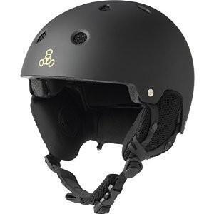 スノーボードTriple Audio Eight Snow Snow Helmet with Audio