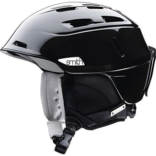 【誠実】 Compass Small Smith Optics Compass Women's Ski Snowmobile Helmet, Metallic Black, Small, リードストア c520ac36