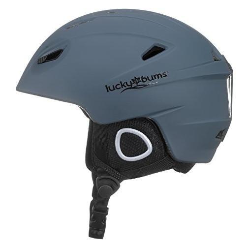 15NAS Small Lucky Bums Powder Series, Snow Sport Helmet Small,Navy