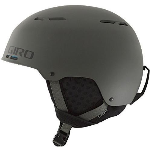 7060284 Medium Giro Combyn Snow Helmet - Men's Matte Mil Spec Olive Medium