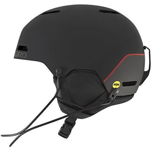 新作 Medium Giro Ledge SL MIPS Race Snow Helmet - Matte Black - Size M (55.5-59cm), ボブアンテナ f7e159ad