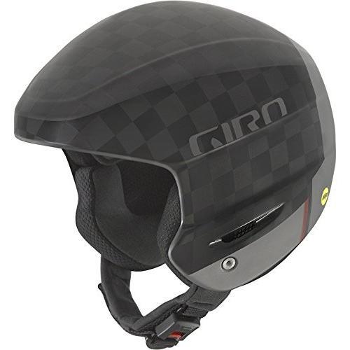 スノーボードGiro Avance MIPS Race Snow Helmet - Matte 黒/Carbon - Size XXL (60.5-62.5cm)