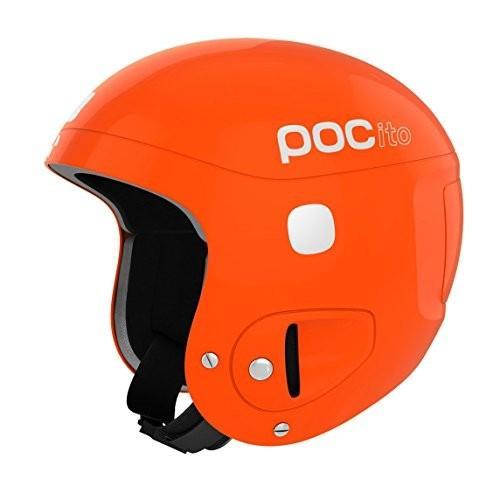 スノーボードPOC POCito Skull, Children's Helmet, Fluorescent オレンジ, ADJ