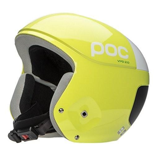 スノーボードPOC Skull Orbic Comp Helmet (Hexane 黄, M L)