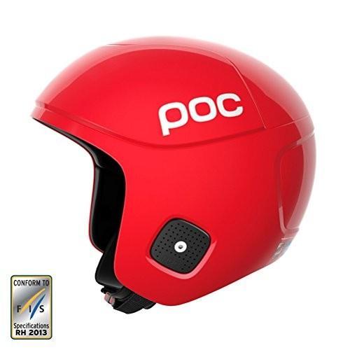スノーボードPOC Skull Orbic X Spin, High Speed Race Helmet, Bohrium 赤, Large