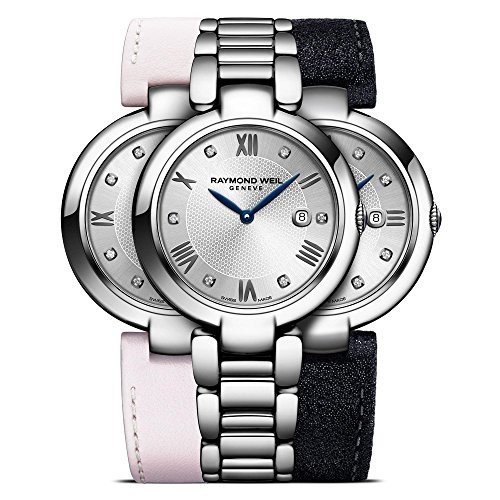 激安特価  1600-ST-RE695 Ladies' Raymond Weil Weil Shine Repetto Watch