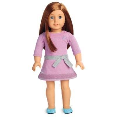 アメリカンガールドールAmerican Girl - Truly Me Doll: 青 Eyes, Laye赤 赤 Hair, Fair Skin Tone DN65