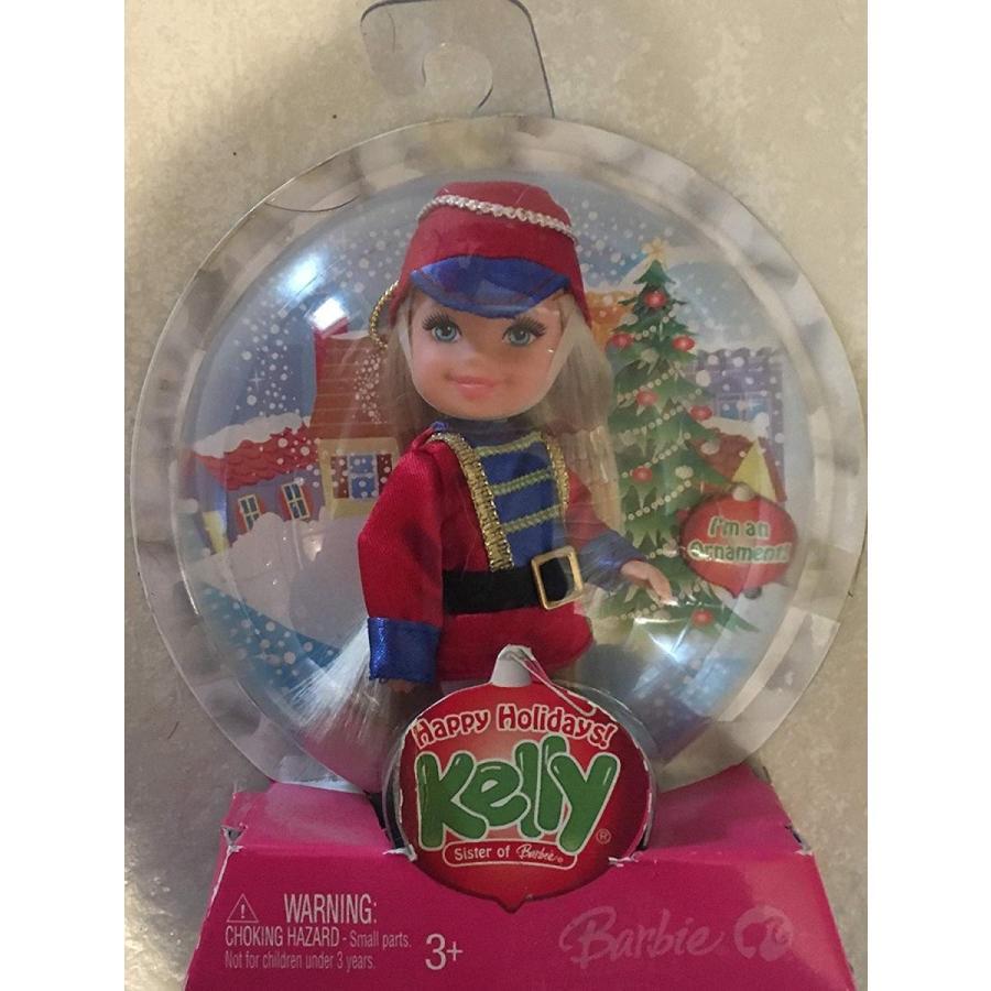 バービーBarbie Holiday Candy Cane Kelly Ornament by Mattel