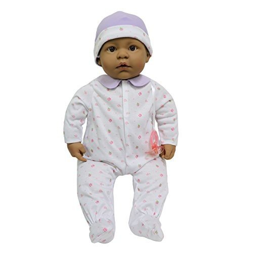15343 20 inches JC Toys, La Baby Hispanic 20-inch Soft Body in 紫の Play Doll - For Children 2 Years Or Older, Designed by Beren