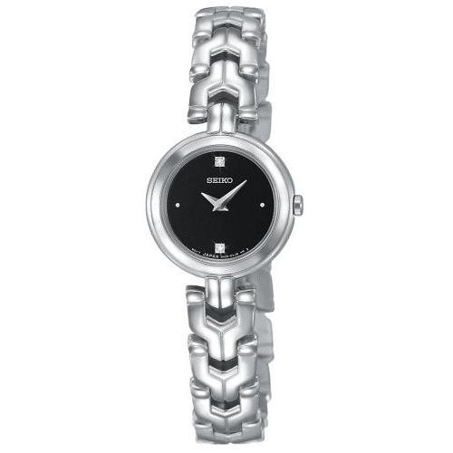 新しいコレクション SUJF35 Seiko Women's SUJF35 Diamond Stainless Steel Watch, エドサキマチ 02d068de
