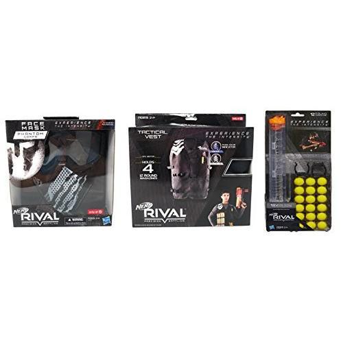 ナーフライバルNerf Rival Phantom Mask, Phantom Vest and 18 Ammo Bundle