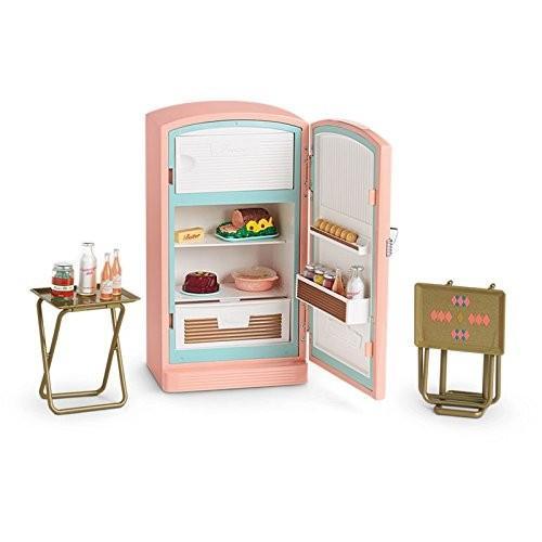 アメリカンガールドールAmerican Girl Retro Fridge and Food - Maryellen's Refrigerator & Food Set