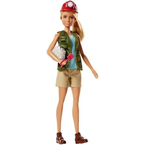 FJB12 N.A. Barbie Careers Paleontologist Doll