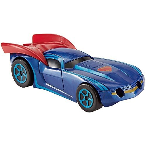 DNP79 led-ball-2274 Hot Wheels DC Universe Deluxe Superman Vehicle