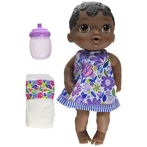 E0308 Baby Alive Lil SIPS Baby HAS-E0308-AX00 Lil Sips Baby Girl Doll