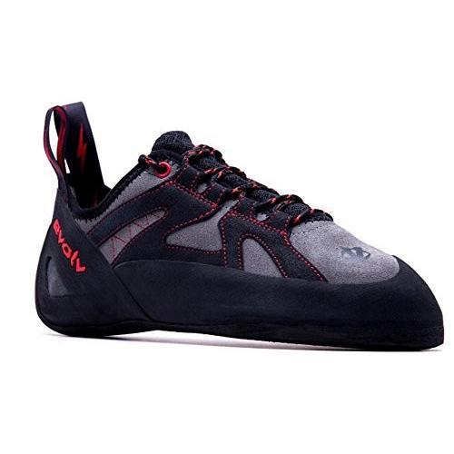 5 D(M) US Evolv Nighthawk Climbing Shoe - Men's Gray/黒 5
