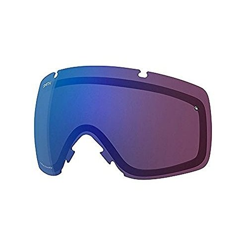 Smith One Size Smith Optics I/O Adult Replacement Lens Snow Goggles Accessories - Chromapop Photochromic Rose Flash/One Size