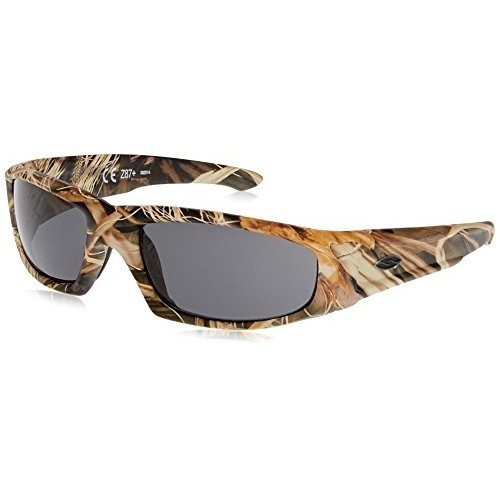 HUDSON TACTICAL One Size Smith Optics Elite Hudson Tactical Sunglass, Gray, Realtree Max 4