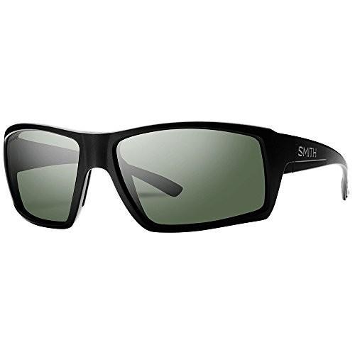 【翌日発送可能】 CHCPGNMB One Size Smith Challis ChromaPop Polarized Sunglasses - Men's (Matte Black/Polarized Gray Green), 豊中市 ec06a1e3