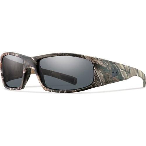 スミスSmith Optics Elite Hideout Tactical Sunglass, Gray, Realtree A/P