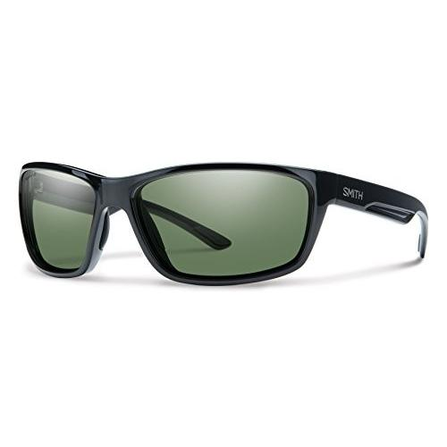 赤mond One Size Smith Optics 赤mond Chromapop+ Polarized Sunglasses, 黒, Gray 緑 Lens, One Size (Pack of 5)