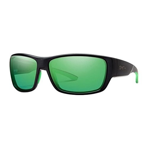 【NEW限定品】 Forge One Size Smith Forge Carbonic Polarized Sunglasses, Matte Black, Green Mirror Lens, リンナイスタイル 8a3a7402
