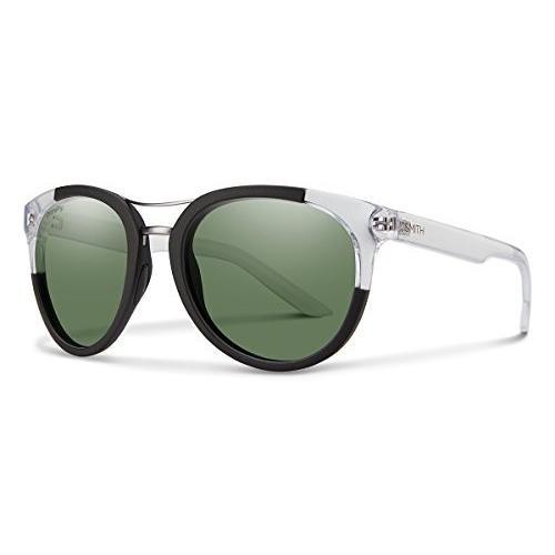【超特価sale開催】 Bridgetown N/A Polarized Crystal Smith Optics Bridgetown Green Chromapop Polarized Sunglasses, Matte Black Crystal Block, Gray Green, 質屋かんてい局上尾駅前店:f3e2eda9 --- airmodconsu.dominiotemporario.com