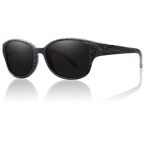 LYRIC (NEW) 54 mm Lens/17 mm Bridge/135 mm Temple Smith Optics Lyric Sunglasses, 黒 Oak, 黒out