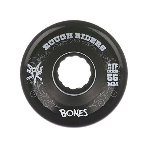 WSCPRRD5980X4 59mm Bones Wheels Rough Riders 59mm 黒 Skateboard Wheels