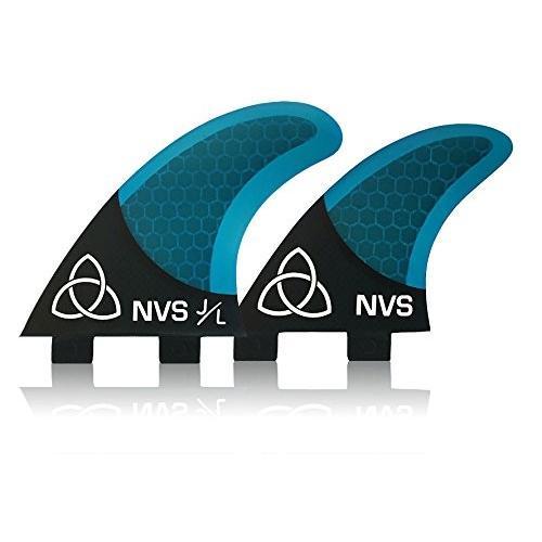 経典ブランド FCS FCS (Twin Tab) Naked Viking Naked Surf Base Medium JL Quad Surfboard Fins (Set of 4) Blue Carbon Fiber, FCS Base, glareshop(グレアショップ):884579fc --- airmodconsu.dominiotemporario.com