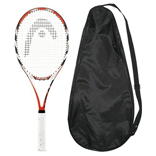 Head MicroGel Radical MidPlus STRUNG with COVER Tennis Racquet MP (4-3/8)