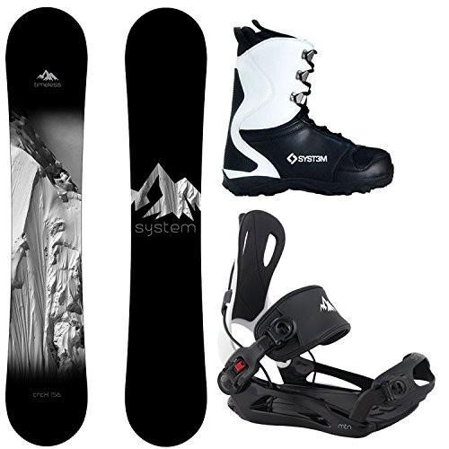 超特価SALE開催! Large Bindings Size 9 Boots System Package Timeless Snowboard 156 cm MTN Binding Large APX Snowboard Boots-9 2019, 古宇郡 42cde9db