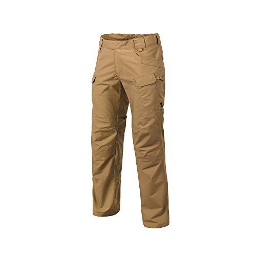 W34 - L32 Helikon-Tex Urban Line, UTP Urban Tactical Pants Ripstop Coyote 褐色, Military Ripstop Cargo Style, Men's Waist 34 Leng