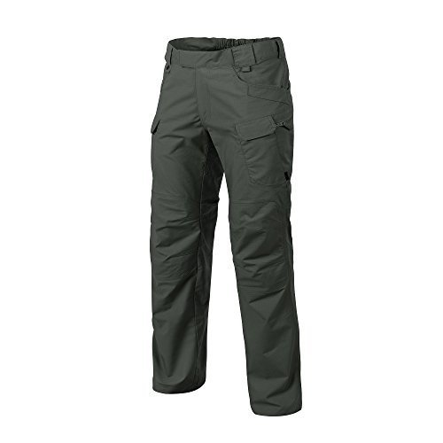 W32 - L34 Helikon-Tex Urban Line, UTP Urban Tactical Pants Ripstop Jungle 緑, Military Ripstop Cargo Style, Men's Waist 32 Leng