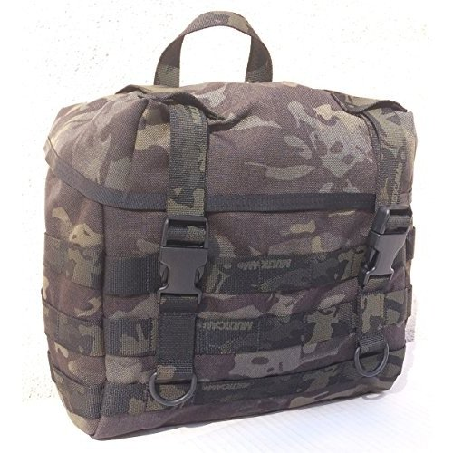 Regular FireForce Military MOLLE Field Butt Pack Made in USA (MultiCam 黒)