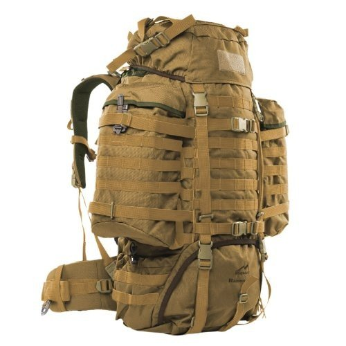 One Size Wisport Raccoon 85L Rucksack Coyote