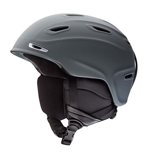 Small Smith Optics Adult Aspect MIPS Ski Snowmobile Helmet - Matte Charcoal/Small