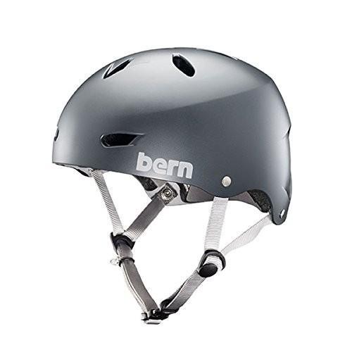 BW02ESMST00 X-Small BERN Brighton Helmet - Satin Metallic Storm X-Small