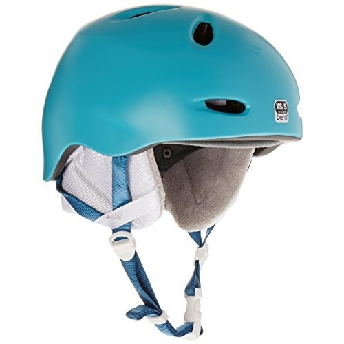 【数量限定】 Berkeley XS-S BERN Berkeley Helmet - Women's Satin Aqua, XS/S, 西村山郡 c6d2200f